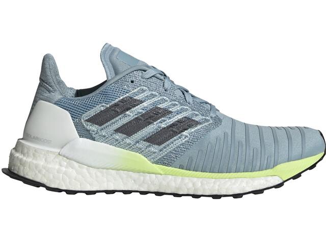 new product c15ac fd1e6 adidas Solar Boost Shoes Women ash grey/onix/hi-res yellow